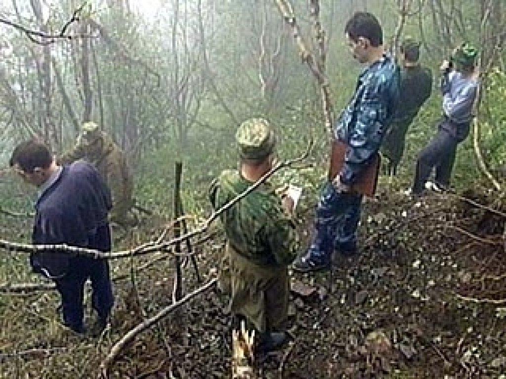 В Веденском районе Чечни обнаружен тайник боевиков