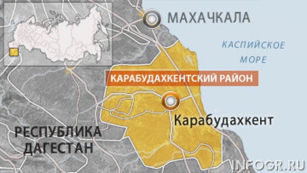 Схрон боевиков обнаружен в Карабудахкентском районе